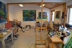 Svendsen's studio