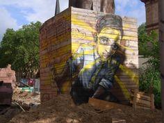 Street Art Tour in Mannheim mit überraschenden Fundstücken Usa San Francisco, Pop Art Collage, Photography Collage, Street Art Graffiti, Facade, Illustration Art, Tours, Gallery, Image