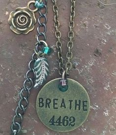 Check out this item in my Etsy shop https://www.etsy.com/listing/239039893/breathe-pendant-necklace-vintaj-necklace