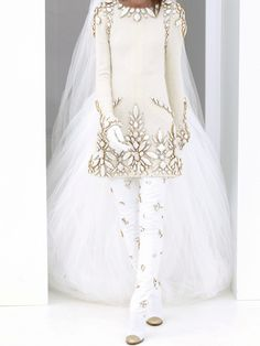 And for a Different Kind of BRIDE We have this Lovely Winter WONDERLAND WEDDING Jacket & Leggings..... {2 of 2}