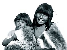 Selknam children, 1898.  The Selk'nam, or Ona, who traditionally placed great value on amiability, were the island of Tierra del Fuego in South America's most numerous native people until their numbers were reduced by disease and genocide in the 19th and 20th centuries.