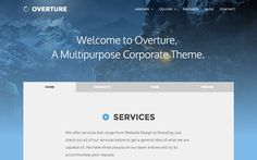 DOWNLOAD - Overture - Responsive Corporate Theme