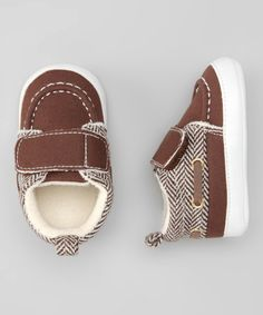 Take a look at this #fall Mocha Fold-Over Sneaker by Rugged Bear Shoes on #zulily today!