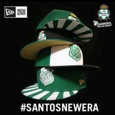 Nueva colección de gorras de Club Santos Laguna  New Era .