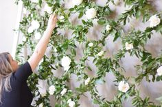 Greenery Wall- Maxit Flower Design- Woodlands, Houston