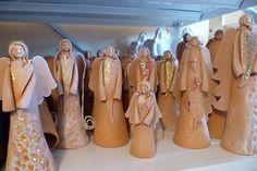 keramický anjel # ceramic angel