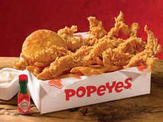 You can't have Bama's Favorite Grub with out Popeyes Chicken Tenders