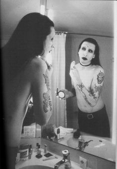 Marilyn Manson. Do i need to say anything more?