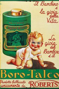 Vintage Borotalco Roberts Adv