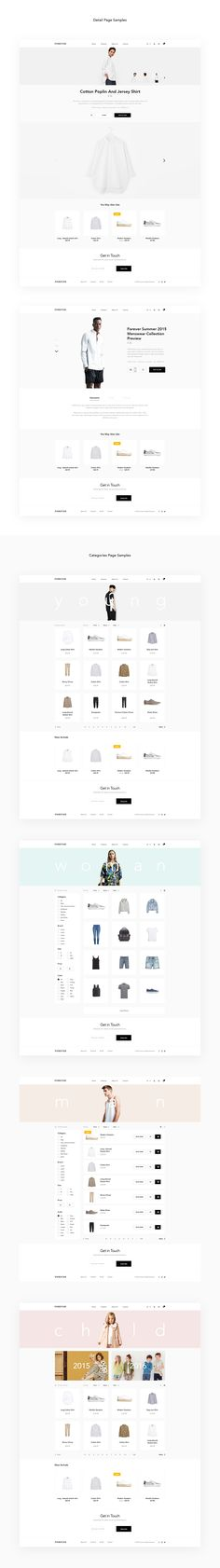 The Best Modern Fashion Theme for Designers and DevelopersForever fashion theme is package has been created to meet the design needs of designers and developers.