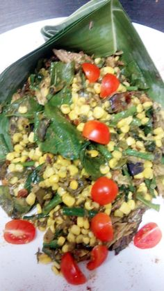 Rica Rondoh (spyci vegetable with green chilly)