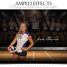Take your sports photography to the next level! Our Amped Effects sports poster templates are opening up doors and creating new revenue streams for photographer