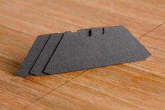 """Accutrax pencil """"blade"""" fits in any standard utility knife but is a marking tool!"""