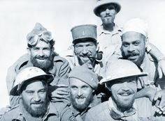 French and British troops after the Bir Hakeim battle. This battle was crucial for the Northern African theatre. A small number of French troops (3700 men) under the command of the general Koenig managed to slow down Italian and German armies (45000...