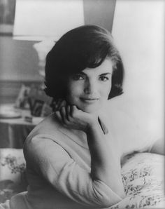 jacqueline bouvier kennedy onassis. in this portrait, circa 1950, we see the stunning and iconical jackie o. now this is unconventional for me to submit as european historian, but what the hell…it's jackie kennedy!