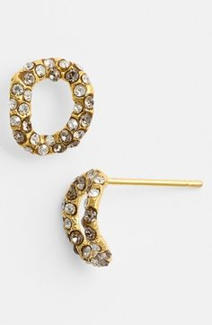 Alexis Bittar 'Elements - Jardin de Papillon' Chain Link Stud Earrings available at #Nordstrom