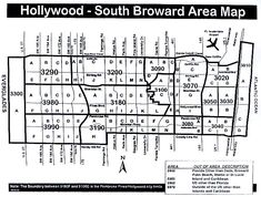 North Broward Area Map | Miami Real Estate Maps and Graphics ...