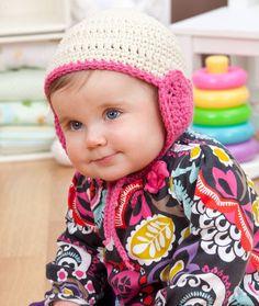 Lovey Hat for Baby Crochet Pattern   Red Heart