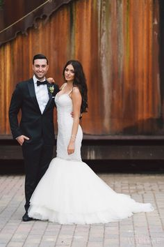WedLuxe – The Bride Wore Ines Di Santo 'Theia' gown at this Four Seasons Toronto Wedding | Photography by: Purple Tree Photography Follow @WedLuxe for more wedding inspiration!