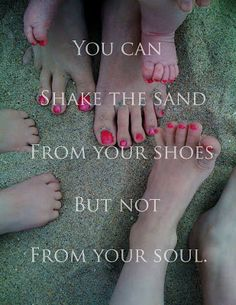 Attempting Aloha: You Can Shake the Sand from Your Shoes but not from Your Soul❤️