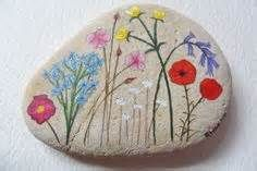Pictures of Wildflowers Painted Rocks - Yahoo Image Search Results