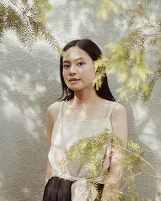 Missing Bandung already🌿 Self Portrait Photography, Uzzlang Girl, Indonesian Girls, Camisole Top, Ootd, Tank Tops, Cabo, Casual, Idol