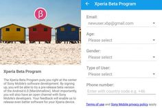 Sony Xperia Beta Program draws to a close at least for the time being