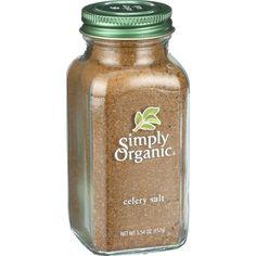 Simply Organic Celery Salt Organic 5.54 Oz