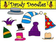 free Hats Off To You Clipart by Dandy Doodles