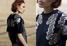 Machine washable Solar Shirt charges your mobile devices on the go