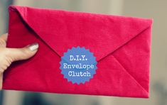 """Its time again to learn how to make an envelope clutch with this easy DIY! Supplies: Main Fabric and lining fabric Fabric Stiffener fusing Tailors Chalk Sewing machine or needle and thread Magnetic clasp closure/ Velcro The dimension of the DIY Clutch shown is : 9 """" X 5″. You can choose the dimension as you like. наполнение сайта Related"""