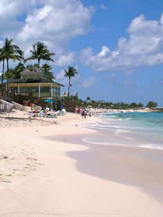 to walk the beach, with the water lapping my toes and listening to the waves touch the sand, that is relaxation Need A Vacation, Vacation Places, Cruise Vacation, Dream Vacations, Vacation Spots, Places To Travel, Places To See, Bahamas Island, Nassau Bahamas