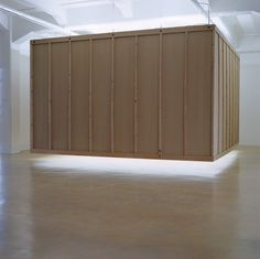 Bruce Nauman. Floating Room: Lit from Inside, 1972