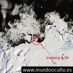 ALERTA CLIMATICA: Se Fractura la Antártida La NASA Capta la Formación de un Nuevo Iceberg Monstruoso