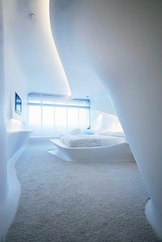 Hotel Puerta América, Madrid :: 1st floor designed by Zaha Hadid Architects