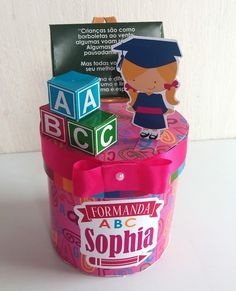 Biscuit, Cupcakes, Ideas, Prom Party, Abc Party, Graduation Ideas, Preschool Graduation Gifts, Unicorns, Infant Crafts
