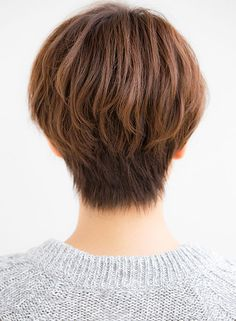 大人可愛いカジュアルショート(髪型ショートヘア)