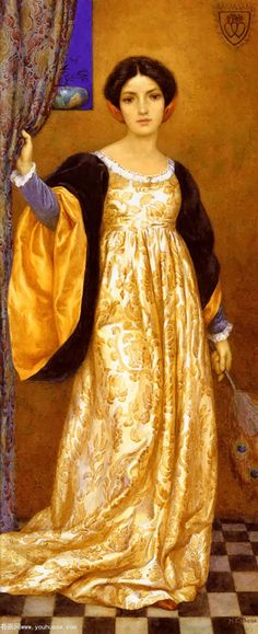 Harry George Theaker, Standing lady