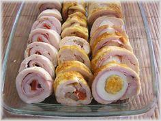 Fotorecept: Kuracie rolády - Recept pre každého kuchára, množstvo receptov pre pečenie a varenie. Recepty pre chutný život. Slovenské jedlá a medzinárodná kuchyňa