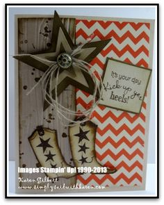 www.simplysaidwithkaren.com - Bootiful Occasions - Embossing techniques, Father's Day, Masculine cards