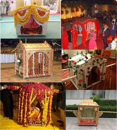 Shahi palki for bride bride groom entry pinterest wedding doli is an essential element of indian wedding shop now panacheindia junglespirit Images