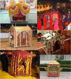 Doli is an essential element of indian wedding. Shop Now www.panacheindia.com #onlneshopping #doli  #unique #style #colorful #facebookcoverphoto #beauty #beautiful #flower #wedding #bridal #bride #panache #panacheindia