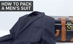 The foolproof way to keep your suit wrinkle-free in your carry-on.