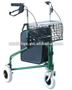 Três rodas com o saco, ortopédicos de aço andarilho, idosos carrinho de compras, ajudar a assistente, ce, iso, tuvgwc903g-Produtos para Terapia de Reabilitação -ID do produto:555321448-portuguese.alibaba.com