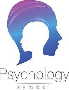 Modern head sign of Psychology. Profile Human. Creative style. Symbol векторная иллюстрация Shopping Cart Logo, Mental Health Research, Social Campaign, Blog Design, Modern Logo, Mother And Child, Logo Inspiration, Logos, Psychology
