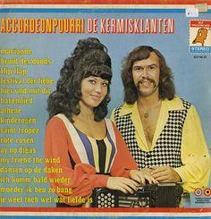AccordeonPourri - De Kermisklanten. The merry fellow's, Dutch LP cover