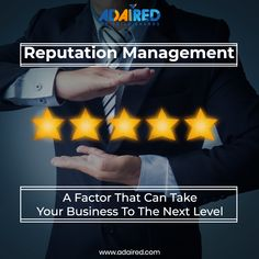 Reputation Management is the key🗝 to make your business a big success. If your business doesn't have a good reputation then it will fail to gain the trust of your potential audience👥. You need to select the best service of Reputation Management that can secure🔒 the reputation and make it the finest one. At AdAired, our team of professionals👨💼 is an expert at managing business reputation📈. Call📞 Us On: +91 89074 00008 #reputationmanagement #reputationmanagementmarketing…