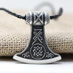 Mjolnir Axe Pendant