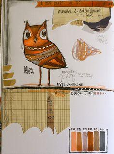 Mr. Owl by Teresa McFayden
