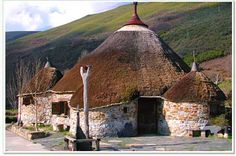 las casas de los aztecas | Viviendas celtas | Blogcurioso